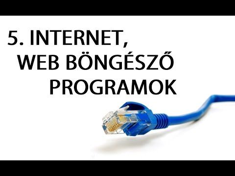 Számítógép kezelői tanfolyam kezdőknek 5. - internet, web böngésző progr...