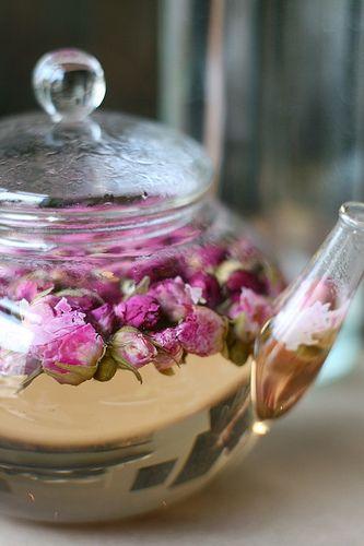 vanilla rose tea...my favourite