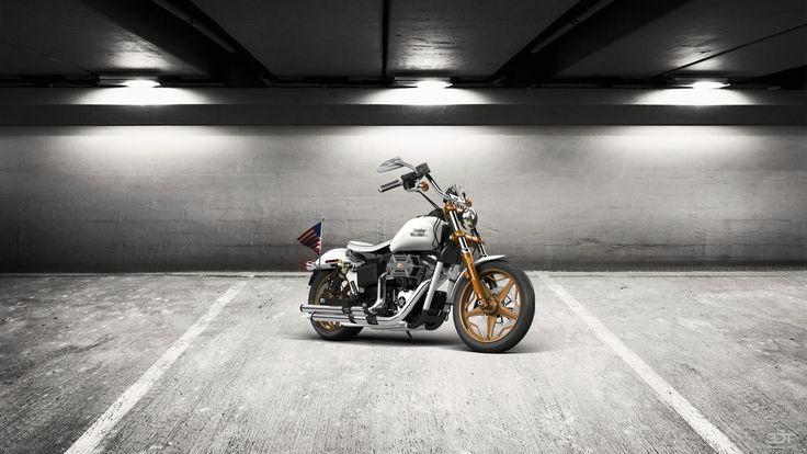 Check out my tuned #Harley-Davidson #DynaStreetBob 2015 at #alcarplayground #tuning