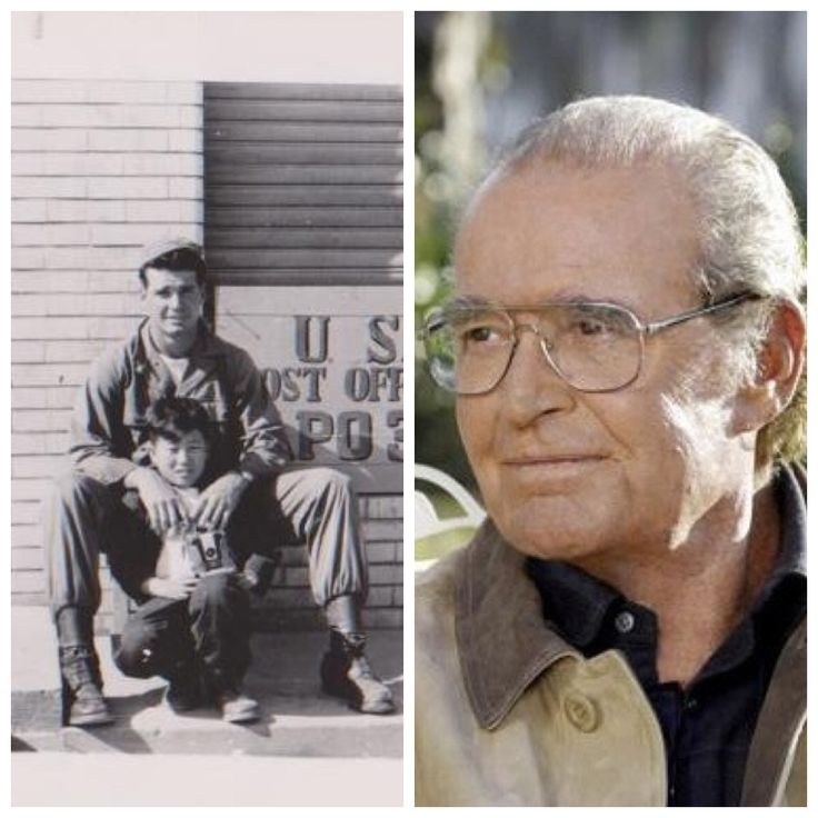 James Garner - We will miss this man of honor. His military service spread over 2 wars. WWII Merchant Marines & National Guard - Regular Army 5th Regiment in Korea. He was wounded twice and received 2 Purple Hearts. The earlier photograph shows him with a young Korean orphan he took care of during that war. Where is Hollywood today?