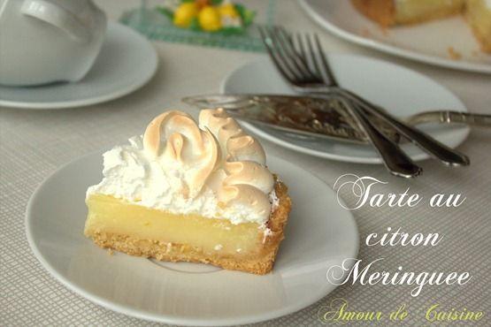 tarte au citron meringuée - Amour de cuisine