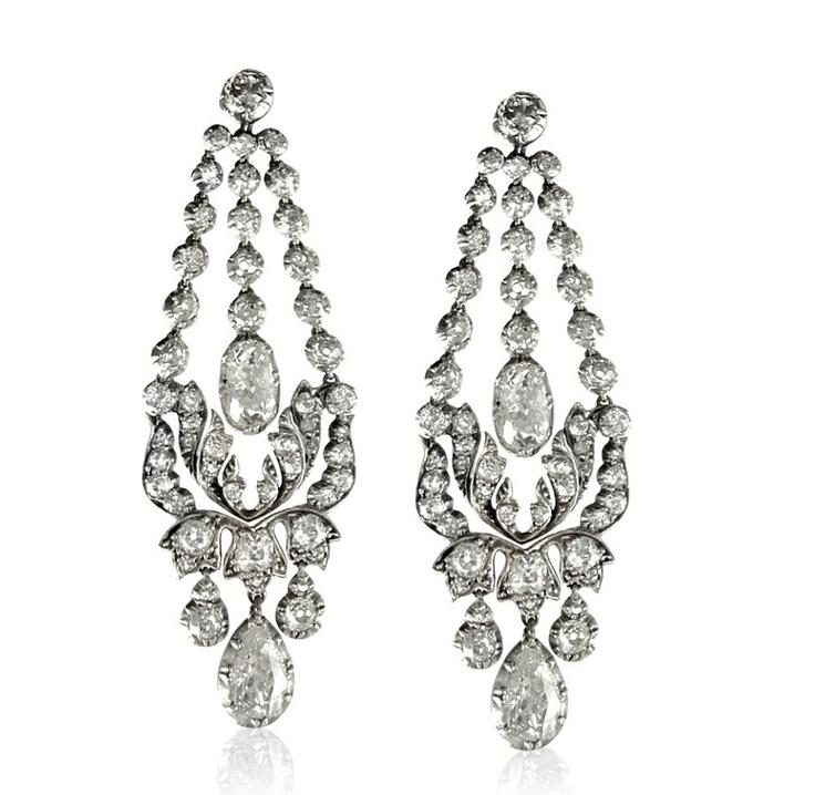 74 best Diamond chandelier earring : \