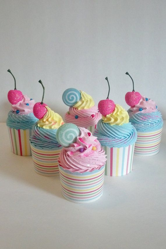 Fake Cupcake Creations is offering an original set of 6 candy land fake cupcakes photo props.  I made this set of cupcakes in 3 vertical and