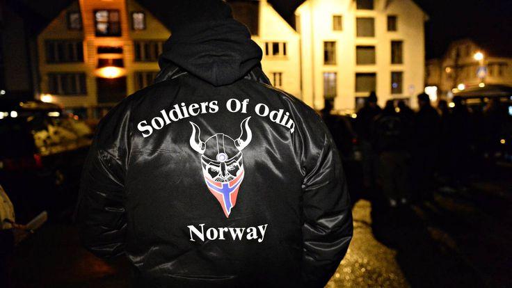 Odins soldater i møte med politiet - Aftenbladet.no
