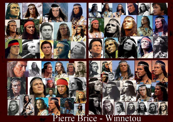 Pierre Brice Winnetou montage pics found on internet
