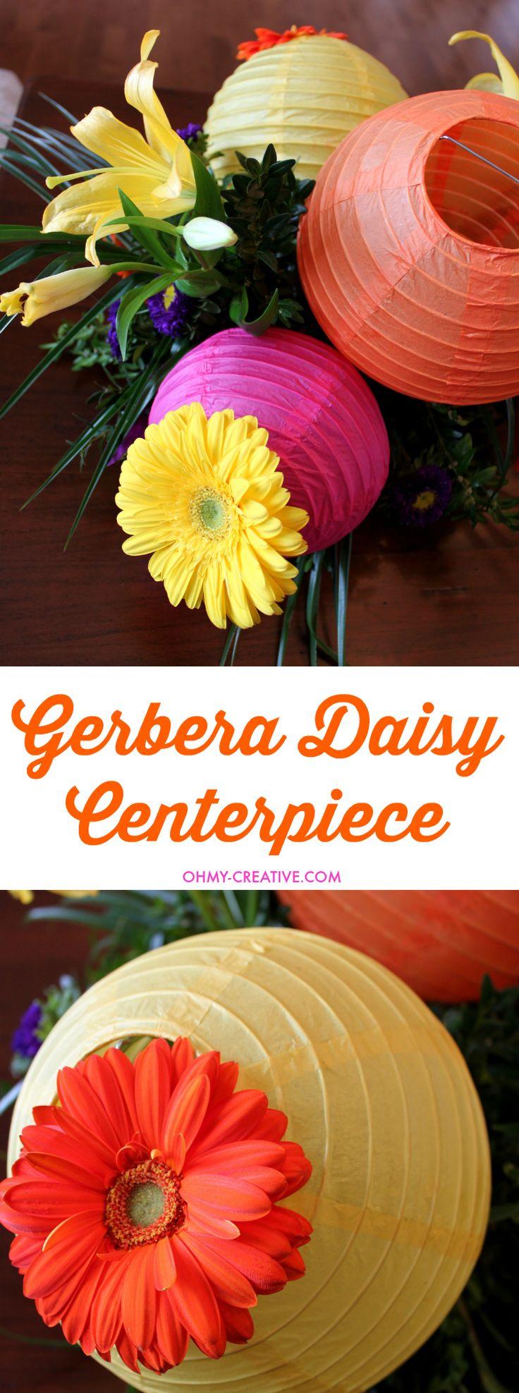 Gerbera daisies are one of my favorite