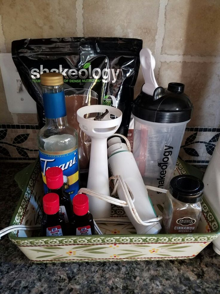 My shakeology station!