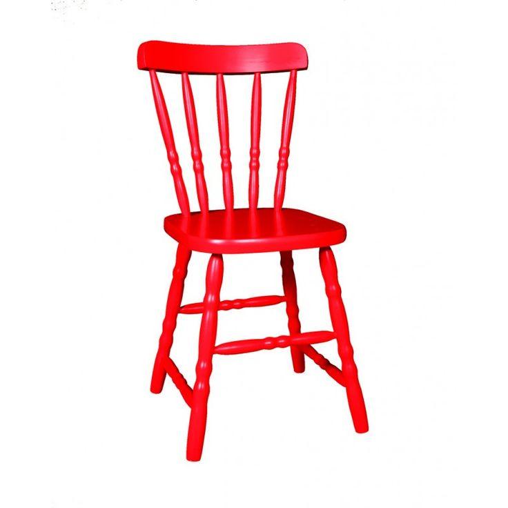 Cadeira Country Vermelha