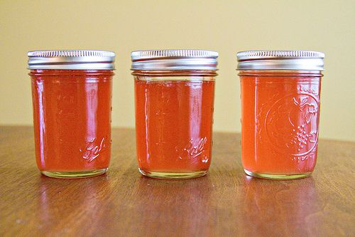 Rosemary-Infused Rhubarb Jelly | Sugarcrafter