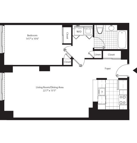 11 best studio apartment floor plans images on pinterest studio apartment floor plans studio for 3 bedroom apartments white plains ny