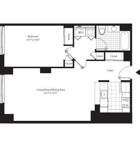11 Best Studio Apartment Floor Plans Images On Pinterest Studio Apartment Floor Plans Studio