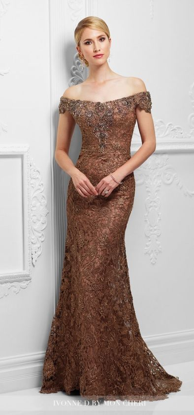 Mother of the Bride Dress by Mon Cheri Bridals