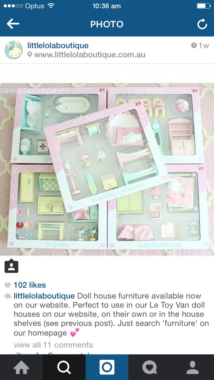 Le toy van daisylane dolls furniture