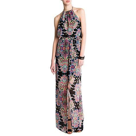 £39.99 Buy Mango Paisley Print Long Dress Online at johnlewis.com