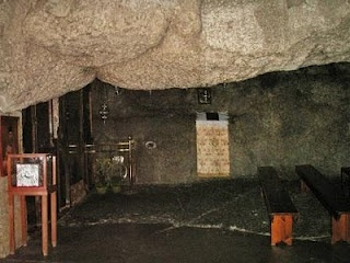 Patmos, The cave of the Apocalypse where St. John wrote this biblebook