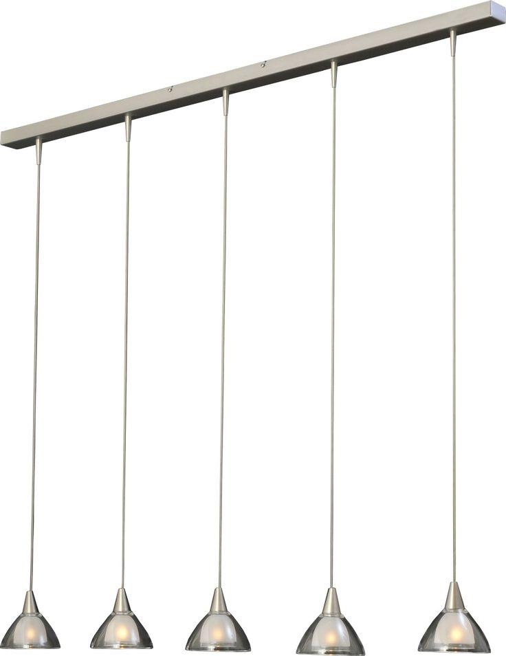 masterlight hanglamp caterina led - zelf samen te stellen, max. 180 cm