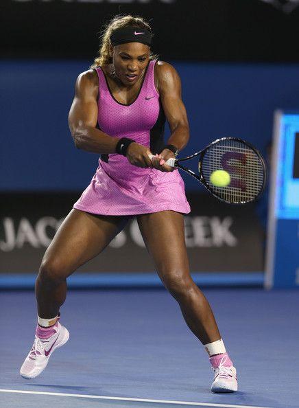 Serena Williams - 2014 Australian Open - Day 1