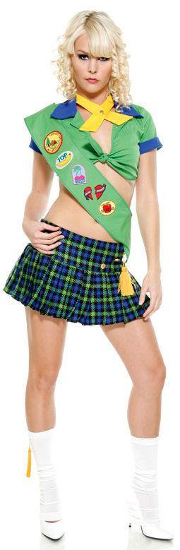 Slutty girl scout
