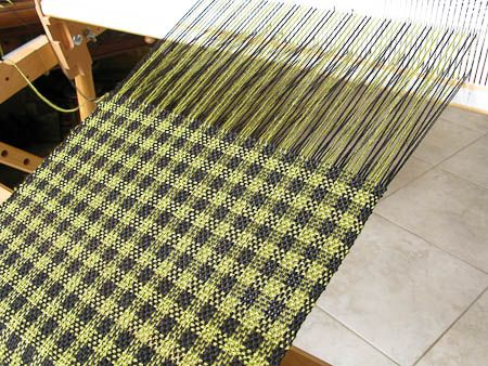 Rigid Heddle Weaving Pattern - Houndstooth Check
