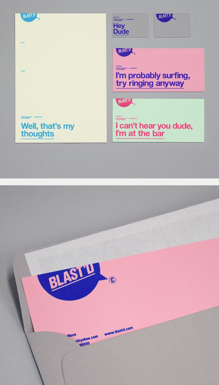 Blast'd identity by Six. If you like UX, design, or design thinking, check out theuxblog.com