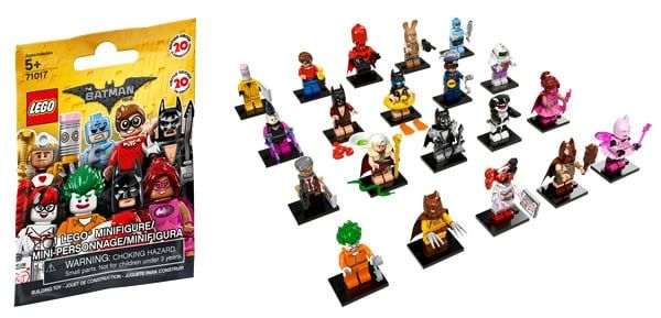 71017 The LEGO Batman Movie Minifigures Series : ce sera 3.99 € le sachet: La série de 20 personnages à collectionner basée sur le… #LEGO
