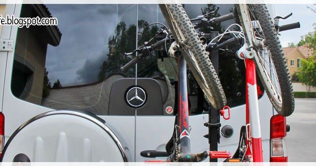 Diy Hitch Mounted Vertical Bike Rack Cargo Carrier That Does Not