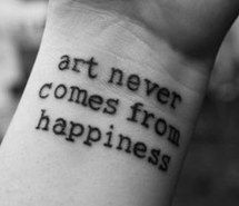 Inspiring image art, black and white, dream, girl, grunge, happiness, happy, hate, inspiration, life, love, nature, people, photography, quote, quotes, sad, sayings, small, style, tattoo, text, tumblr, typography, word #2160241 by saaabrina - Resolution 400x213px - Find the image to your taste