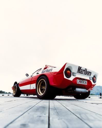 Lancia Stratos. Defined attitude in group4 for 74. 75 & 76. High Fidelity indeed!