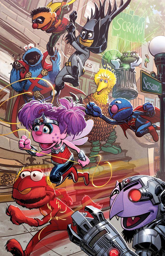 JLSS (Justice League Sesame Street) by Justin Ponsor ...