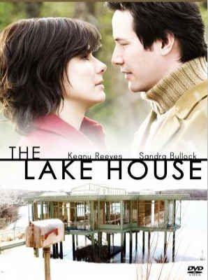 The Lake House - Alex Wyler Keanu ♡♥ Reeves moves into a lake house in 2004; Kate Forster (Sandra Bullock) does the same in 2006. Moving normally through time…except they can communicate via a mailbox that bridges the two-year gap.