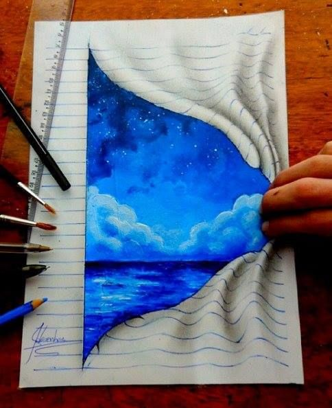 Creative 3D Drawing works by João A.Carvalho