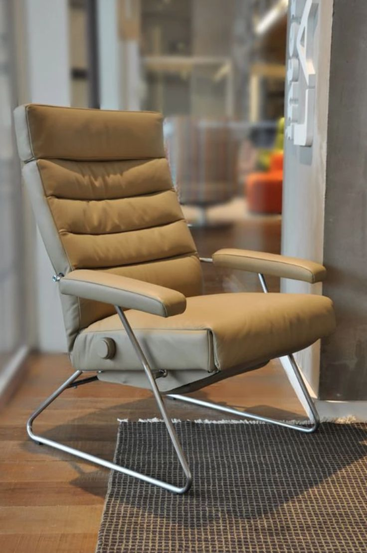 Brown leather recliner by Lafer - Check out other Lafer recliner furniture at Recliners.LA www.recliners.la