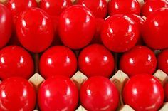 How to Make Greek Easter Eggs...bright RED eggs, beautiful!!!