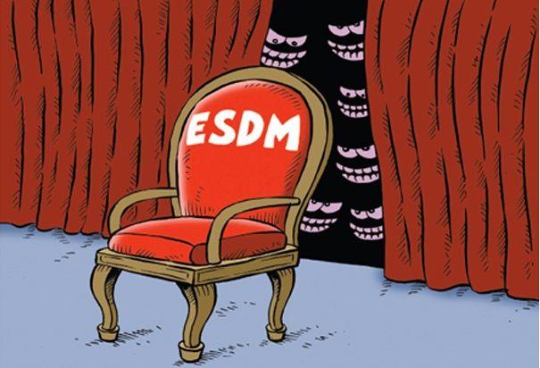 Mice Cartoon - Rakyat Merdeka - Agustus 2016: Incar Kursi ESDM
