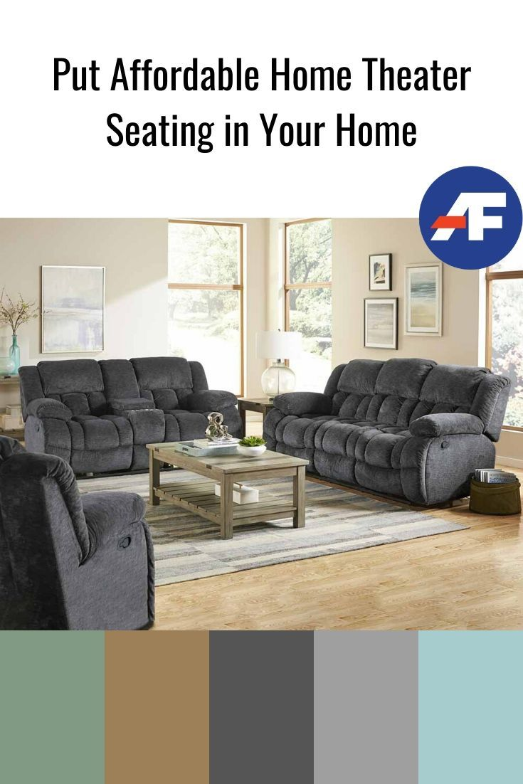 Put Affordable Home Theater Seating In Your Home American Freight Blog Home Theater Seating Theater Seating Home