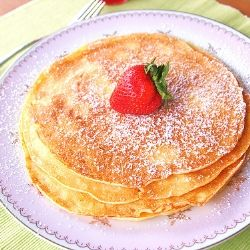 Swedish Pancakes - Thin pancakes that are great with jam or lemon. Easy to make and you probably already have the ingredients!