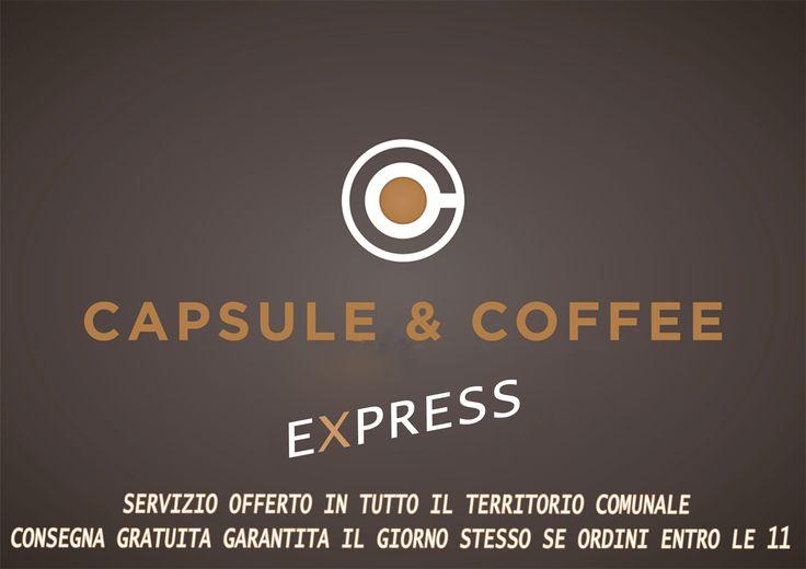 NOVITA' Prova il nostro nuovo servizio Capsule & Coffee Express* Se fai il tuo ordine entro le 11.00, chiamandoci allo 0721-823785 o scrivendoci a fanocaffeshop@gmail.com avrai la consegna gratuita e garantita entro le 16.00 dello stesso giorno. *servizio offerto nel comune di Fano.  #Fano #caffè #capsule #cialde #compatibili #coffee #express #shop #consegna #gratuita #nescafè #nestlè #nespresso #lavazza #bialetti #caffitaly