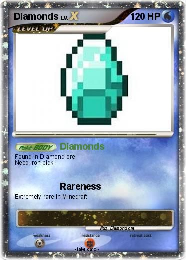 Minecraft Pokemon Cards | Minecraft Pokemon cards