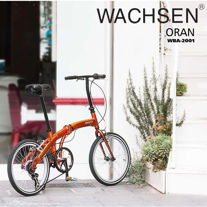 折りたたみ自転車 20インチ 折り畳み自転車 軽量 アルミ シマノ6段変速 WACHSEN ヴァクセン :wba-2001:LANRAN - 通販 - Yahoo!ショッピング  4944370007138