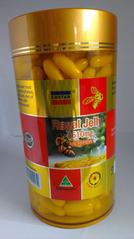 Royal Jelly is a power pack of nutrition, designed by nature to create the queen bee and used by humans to maintain maximum health. This Royal Jelly contain 6% 10-HDA.10-HDA is only found in Fresh Royal Jelly and can not be made artificially. Research shows that 10-HDA and Royalactin (both only found in Fresh Royal Jelly) destroys positive gram bacteria like Streptococcus and Staphylococcus which can cause serious illnesses .