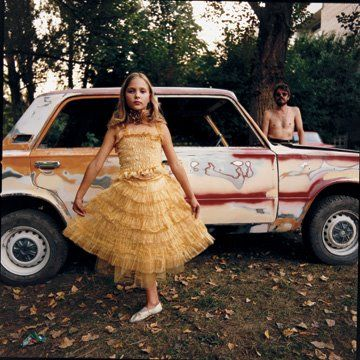 Michal Chelbin: Michal Chelbin, Little Girls, Chelbin 1974, Girls Project, Chelbin Alicia, Dresses, Golden Dress, Dress Ukraine