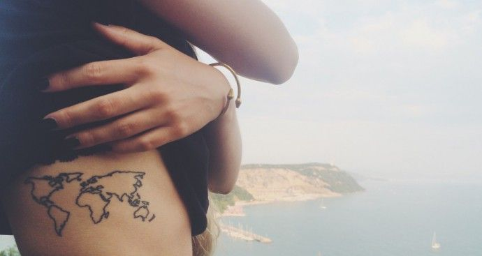Part of me does want a tattoo on my right side.