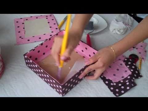 ▶ Caixas forradas p.3 - YouTube