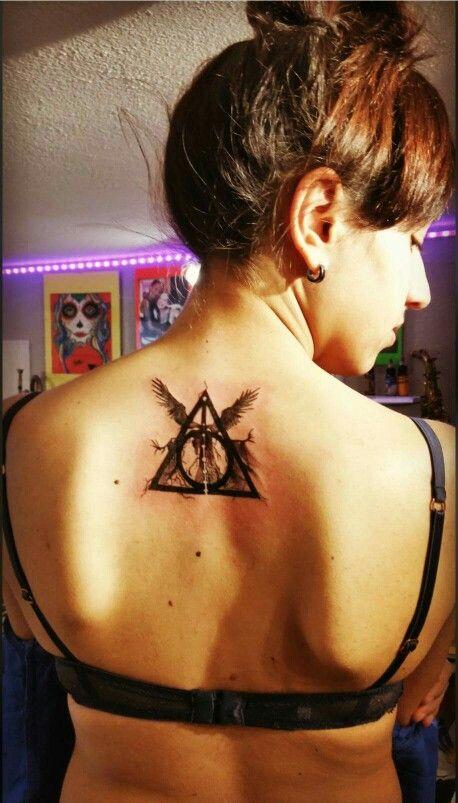 Deathly Hallows Harry Potter Tattoo