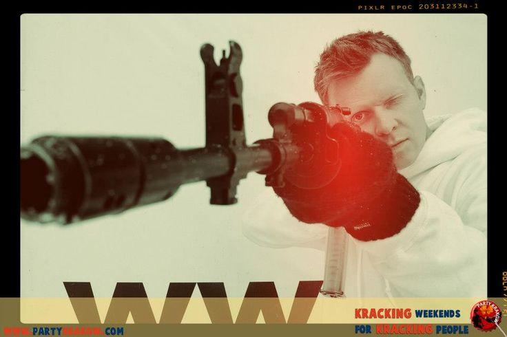 Krakow gun shooting - a great stag activity