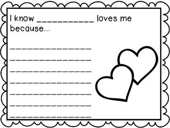 Valentine's Day Writing Prompts - 9 prompts great for early elementary students. Make a class book, or send home inside a Valentine's Card for parents. Wonderful holiday writing center.