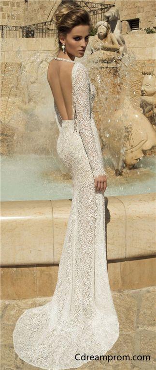 Elegant wedding dress, Beach wedding dress,Fashion
