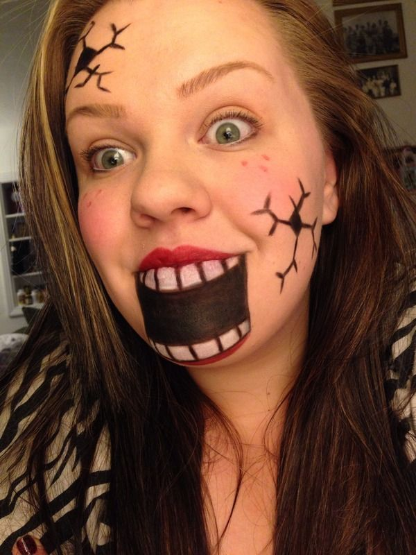 pretty and scary halloween makeup ideas i love halloween makeup and drinks. Black Bedroom Furniture Sets. Home Design Ideas