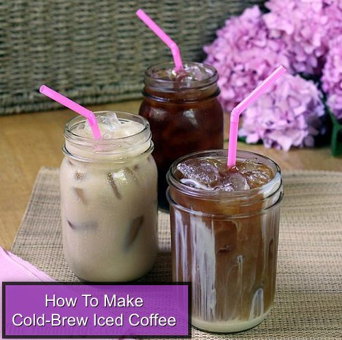 How To Make Cold Brew Iced Coffee...http://homestead-and-survival.com ...