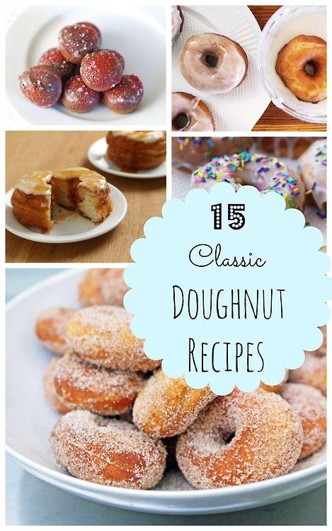 15 Classic Doughnut Recipes You Can Make at Home